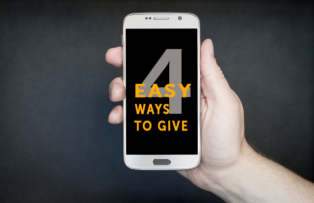 4 Ways to Make Giving Easy