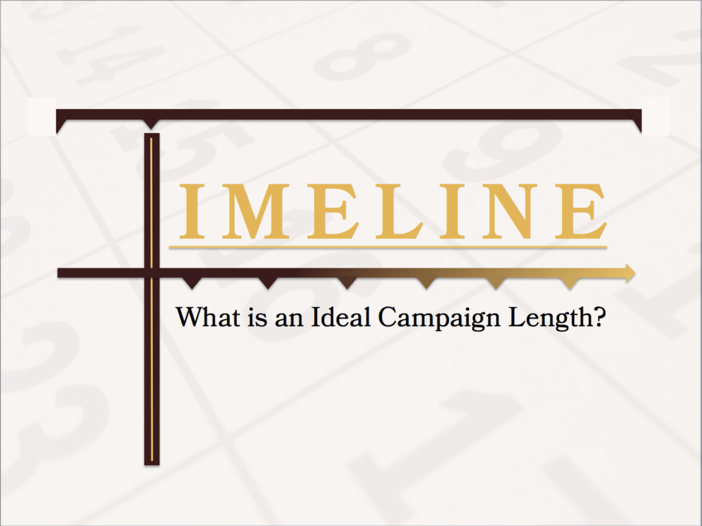 What Is an Ideal Capital Campaign Length?